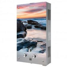 Колонка газовая OASIS Glass 20MG океан пляж 20кВт 10л мин дt 25°C