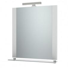 Зеркало Тритон НИКА 80 с подсветкой и полочкой белое ш800 х гл25 х в792