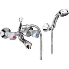 Смеситель Remer *1000-2000* 02Y для ванны короткий гусак с душем стандарт