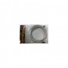 """Шланг Wasser Zimmer  ZM-2201 для лейки 150см d1/2""""х1/2"""" силикон белый"""
