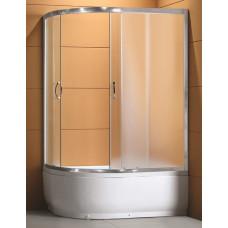 Кабина душ. LORANTA CS-1285 SK R 120х80х195 гл/поддон хром мат/стекло