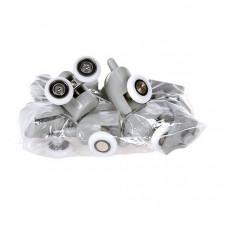 Комплект роликов клипса (4 верх/1ных, 4 ниж/1ных с кнопкой) d=25 арт DC1004d-25
