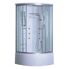 Гидробокс LORANTA CS-002 80х80х220 гл/поддон п/к сатин серое пер/стекло