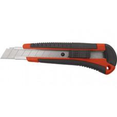 Нож технический КУРС с выдвиж/лезвием усиленный арт 10174