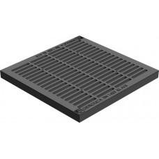Решетка водоприемная для дождеприемника Gidrolica Point РВ-28,5-28,5 пластик арт 208/клА15