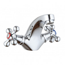 Смеситель для умывальника NAMI Кристи керамика 2110-01-KR