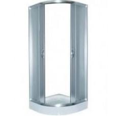 Стекло неподвижное для душ каб LORANTA CS 837 80х80х195 мел поддон п/к fabric стекло
