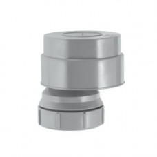 Клапан вент (аэратор) d=50 McAlpine со смещ проп/спос-ть 13,6л/сек MRAA2-Clear