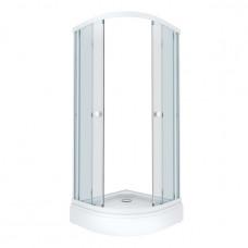 Стекло неподвижное для душ каб ТРИТОН Гидрус 1 стекло лен