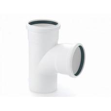 Тройник канализационный d=50х50х90* белый Ostendorf