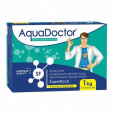 Средство для бассейна AQUADOCTOR Superflock в картушах (коагулянт) *1кг*