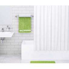 Штора для ванны Wasserkraft Vils 180х200 c кольцами *белая* SC-10201