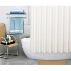 Штора для ванны Wasserkraft Vils180х200 c кольцами *бежевая* SC-10101