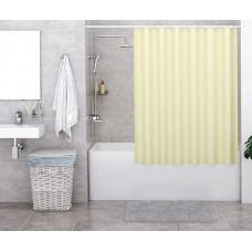 Штора для ванны Wasserkraft Order 180х200 c кольцами *желтая* SC-30101