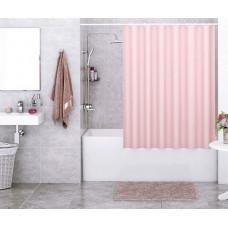 Штора для ванны Wasserkraft Order 180х200 c кольцами *розовая* SC-30401
