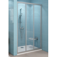 Дверь для душевой раздвижная  RAVAK ASDP 3-90 белая PEARL пластик