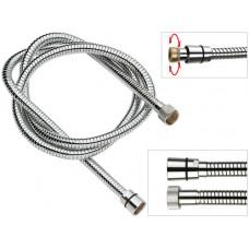 """Шланг для лейки 150см d1/2""""х1/2"""" хром латунь Remer Twist Free 333CN DG AT150"""