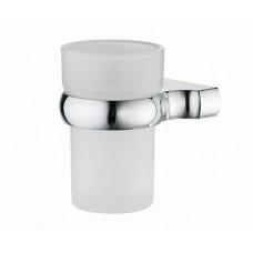 Подстаканник Wasserkraft Berkel одинарный стекло мат хром  К-6828