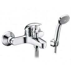 Смеситель Wasserkraft Isen 2601 для ванны  с коротким изливом хром