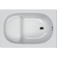 Ванна стальная KOLLER POOL 105х70Е 2,5мм с сиденьем без ножек