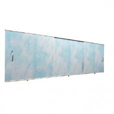 Экран под ванну 1,50х0,50 ODA/ОРИО *Универсал* светло голубой мрамор ЭС 150 50 УГ