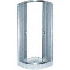 Стекло неподвижное для душ каб LORANTA CS 837 90х90х195 мел поддон п/к сатин fabric стекло