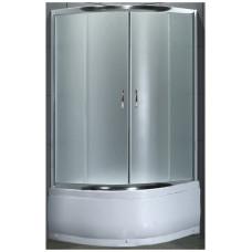 Стекло подвижное (дверь) для душ каб LORANTA CS-834 90х90х195 гл/поддон п/к fabric