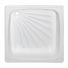 Поддон стальной 90х90х16 квадратный (лучи)