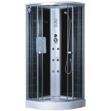 Гидробокс LORANTA CS-004 90х90х220 мелк/поддон п/к сатин серое пер/стекло