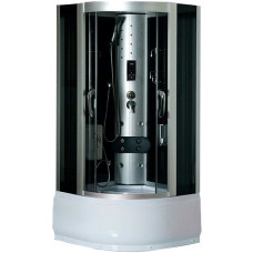 Гидробокс LORANTA CS-8708 110х110х215 гл поддон п/к хром мат