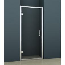 Дверь для душевой одноэл. AZARIO AZ-101HS 100х200 хром прозр/стекло