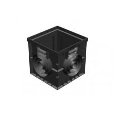 Дождеприемник Gidrolica Point ДП 30.30 универсальный пластик арт 229