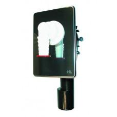 Сифон встроенный для стиральных машин на монтаж. пластине HL400