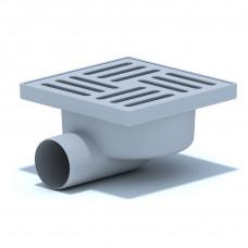 Трап d=50х90 (150х150) пласт решетка нерегулир. АНИ пласт ТА5110