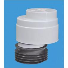 Клапан вент (аэратор) d=110 McAlpine со смещ, проп/спос-ть 48,1л/сек MRAA1-Clear