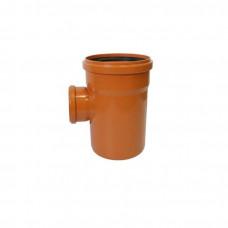 Тройник наружный канализационный d=160х110х90*