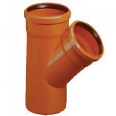 Тройник наружный канализационный d=250х110х45*
