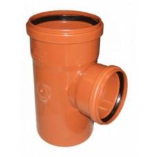 Тройник наружный канализационный d=250х110х90*