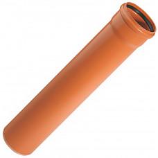 Труба наружная канализационная d=110/1,0м х 3,2мм