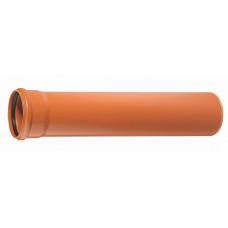 Труба наружная канализационная d=200/1,0м х 3,9мм
