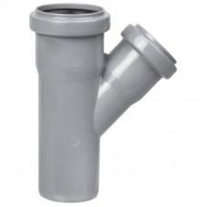 Тройник канализационный d=50х50х45* Политэк