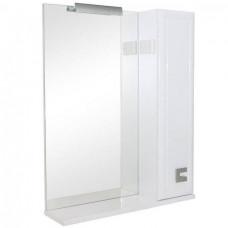 Зеркало Аква Родос Мобис 65см (R) с полкой и подсветкой