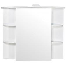 Зеркало шкаф Аква Родос Оптима 80см с подсветкой