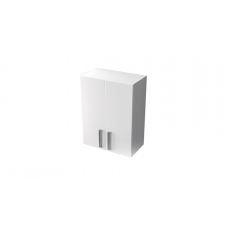 Шкаф навесной Тритон Ника 60 белый 2 двери