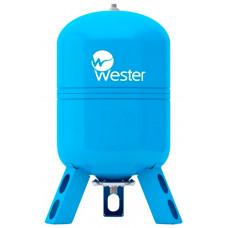 """Гидроаккумулятор вертикальный WESTER WAV 150 (10 бар) D50хH106 G1"""" (на ножках)"""