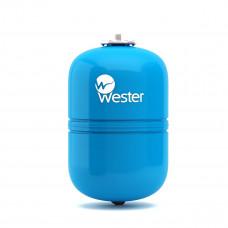 "Гидроаккумулятор вертикальный WESTER WAV 8 (10 бар) D20хH31 G3/4"" без крепл"