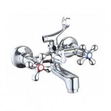 Смеситель для ванны NAMI Кристи Нова стандарт короткий гусак плоский 2410 22 KRN