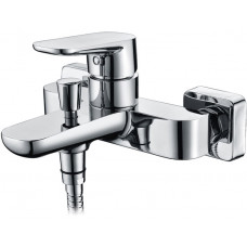 Смеситель ТРИТОН Lion 15104 D90 для ванны  с коротким изливом хром