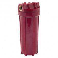 """Колба d=1/2"""" 10"""" красная WF HOT 10 с клапаном, крепл, ключом USTM"""
