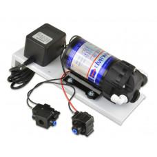 Насос для систем RO (к-т пов дав с соленоид кл) ГЕЙЗЕР BP50 (24VDC/1,0A, Pmax 8бар, Qmax 1л/мин) 25301